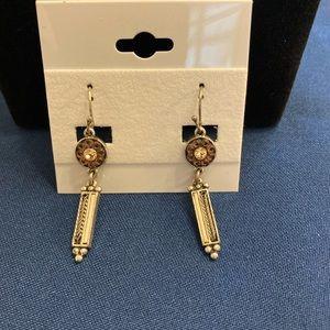 3 for $20NWOT lia sophia Purple & silver earrings